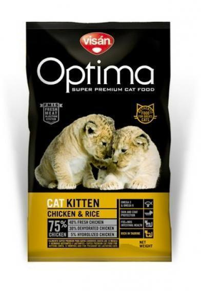 Optimanova Kitten kana-riisi 400g