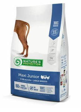 NP DOG Maxi Junior Siipikarja 2-18 kuukautisille 4kg Large Breeds