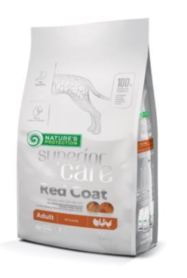 NP DOG SuperiorCare Red Coat Siipikarja Adult 1,5kg