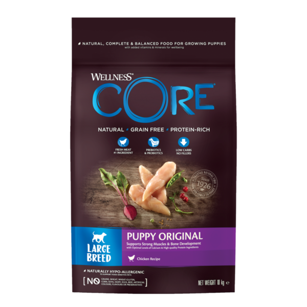 CORE Dog Large Breed PUPPY ORIGINAL Chicken DRY 16kg