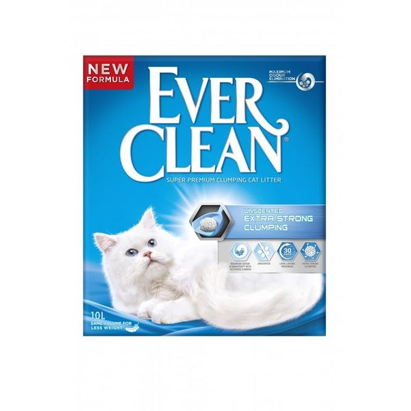 EverClean Extra Strong Unscent 10l